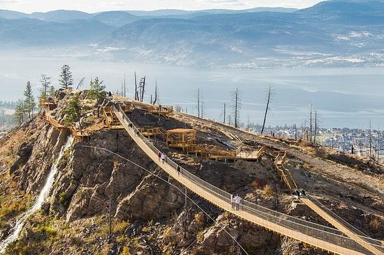 Kelowna Mountain Bridges & Vineyards