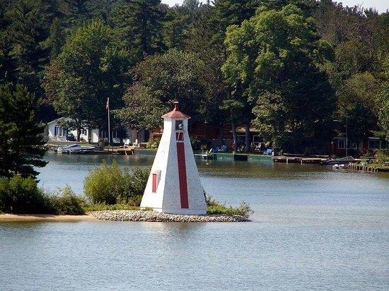 Pointe Aux Pins Range Lighthouses