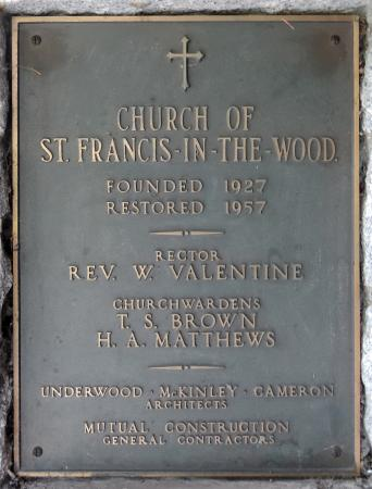 St. Francis-in-the-Wood Church