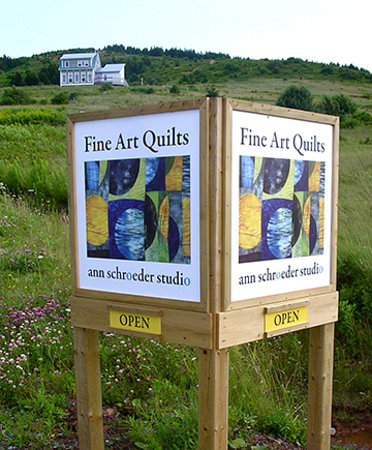 Ann Schroeder Studio: Fine Art Quilts