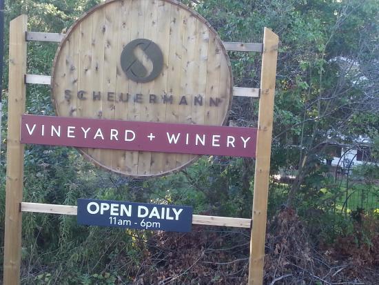 Scheuermann Vinyard and Winery