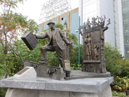 The Emigrant Statue